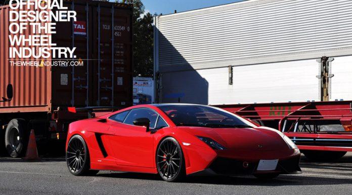 Lamborghini Gallardo LP570-4 STS on Black ADV.1 Wheels