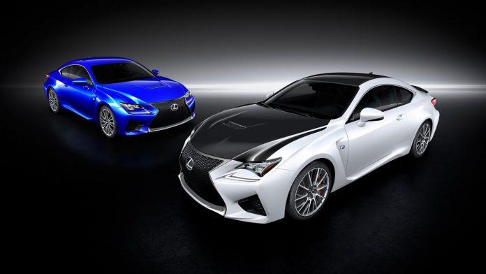 Official: Lexus RC F Carbon Package
