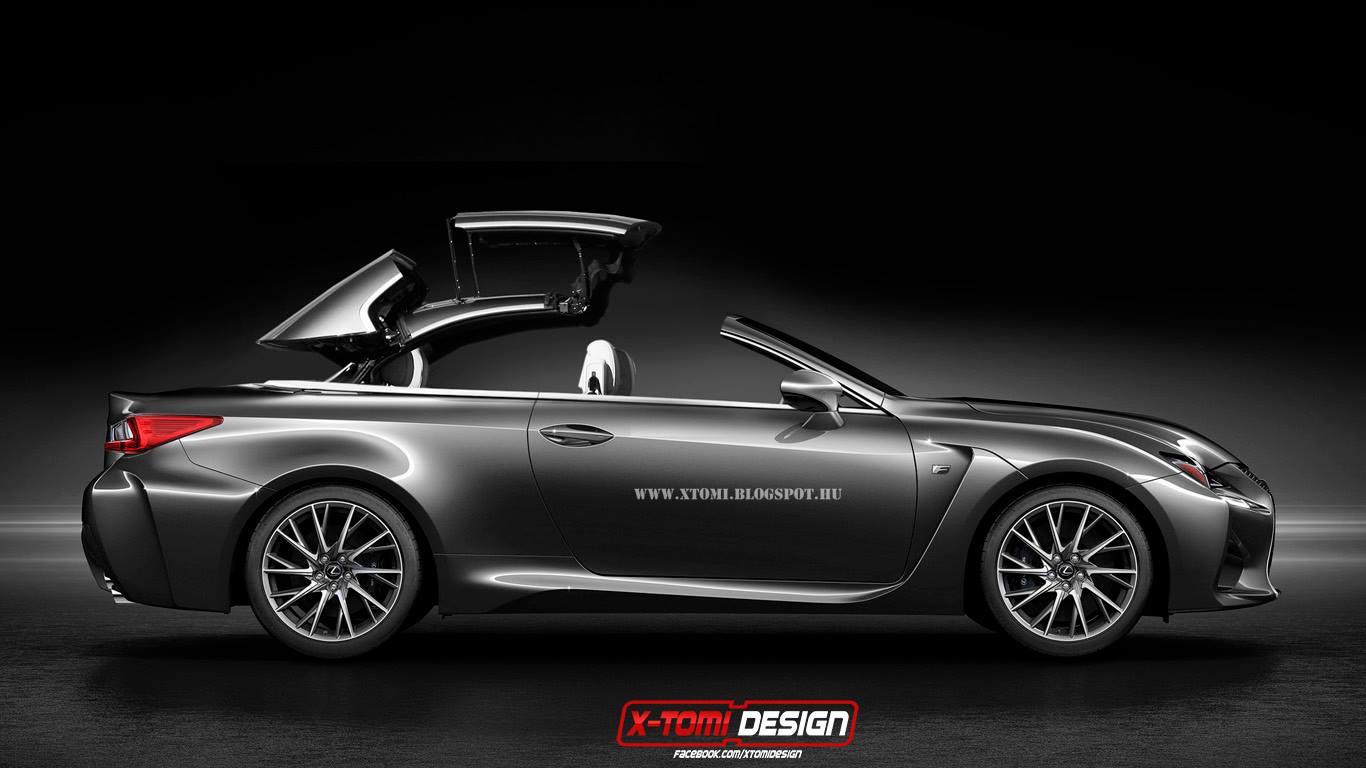Render: Lexus RC F Cabriolet - GTspirit