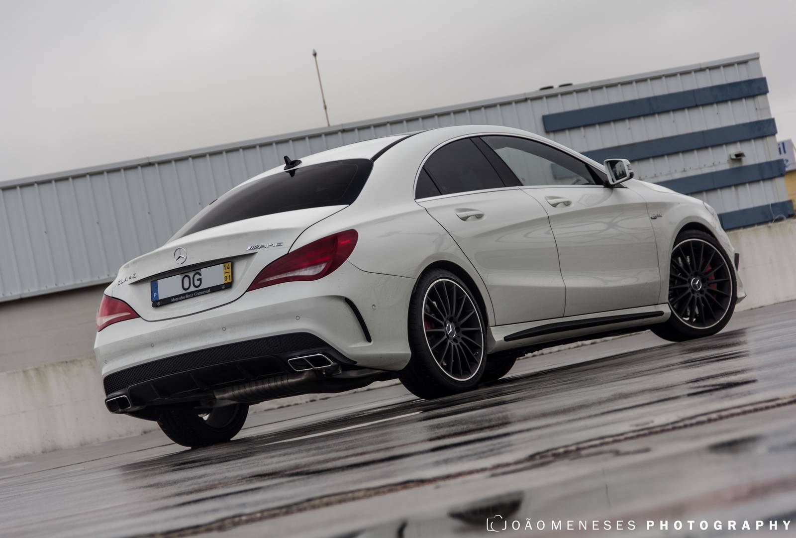 2014 mercedes benz cla 45 amg photoshoot gtspirit for Mercedes benz amg cla 45