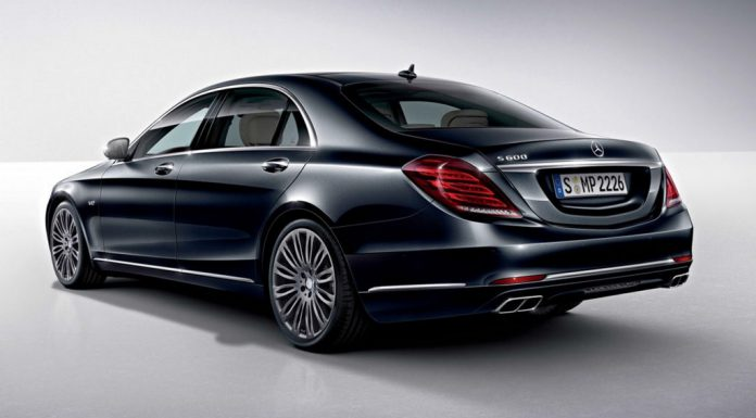 2015 Mercedes-Benz S600 Leaks in New Photos