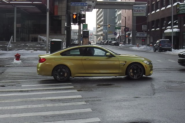 2014 BMW M4 Spotted on the Streets of Detroit