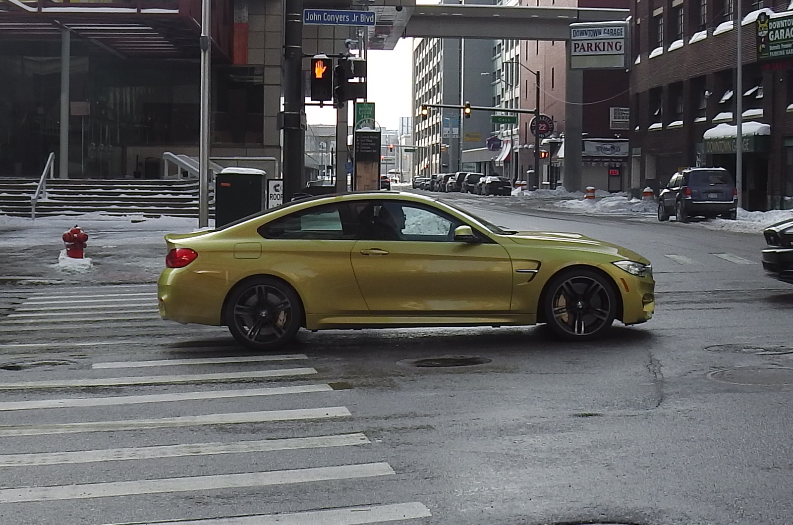 2014 BMW M4 Spotted on the Streets of Detroit  GTspirit