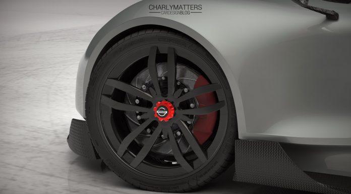 Futuristic Nissan Kaze Track Car Rendered