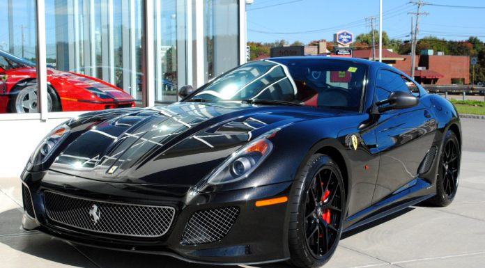 Menacing Black on Black Ferrari 599 GTO Up For Grabs