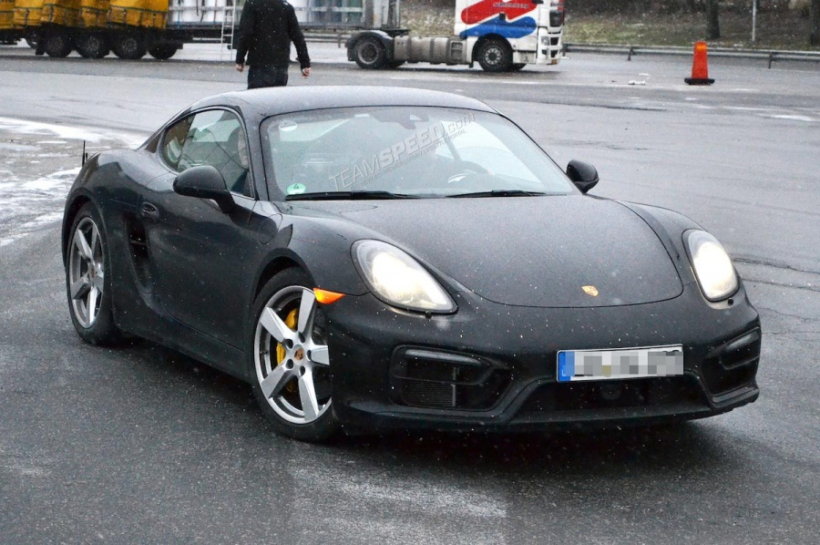 New Porsche Boxster and Cayman GTS Models Spied