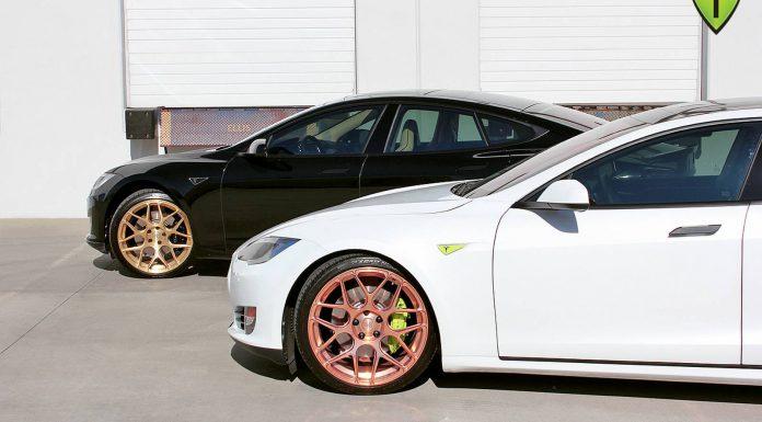 Tesla Model S Gold Edition Wheels by T Sportline