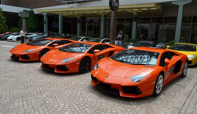 Gallery: Lamborghini Club Singapore CNY Meeting