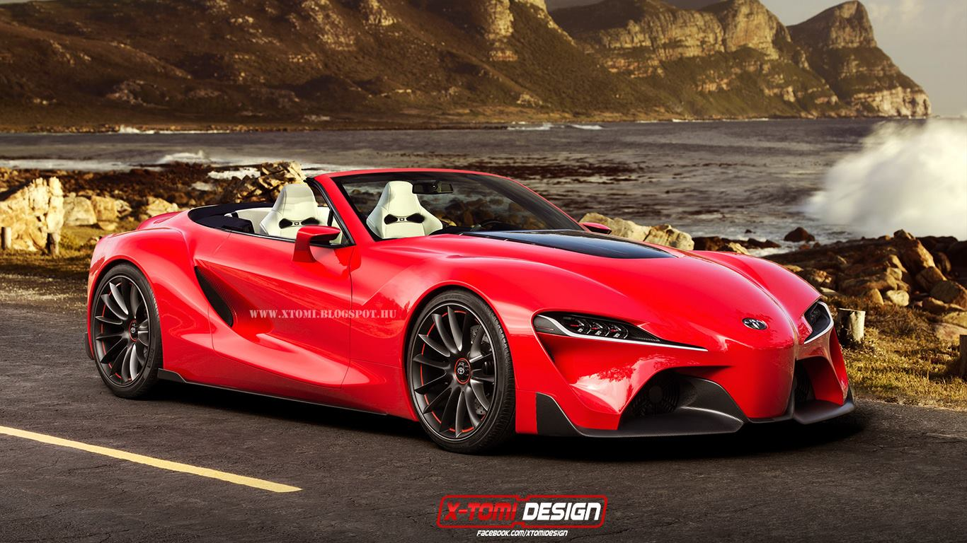 Render Toyota Ft 1 Convertible Gtspirit