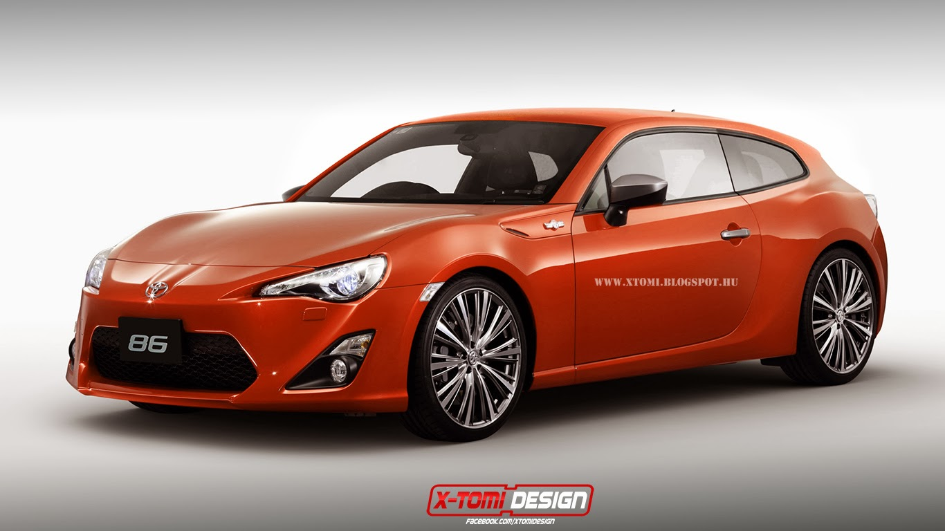 toyota gt86 shooting brake looks hot gtspirit. Black Bedroom Furniture Sets. Home Design Ideas