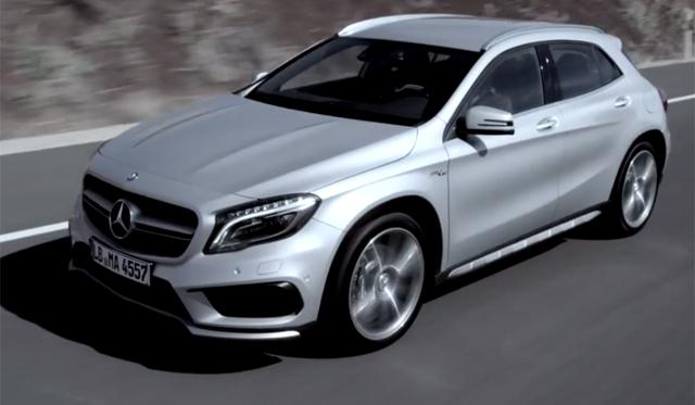 Mercedes-Benz GLA 45 AMG Gets Official Promo