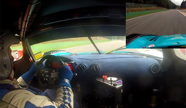 Onboard the Maserati MC12 Corsa at Spa!