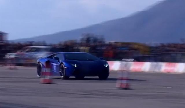 730hp Lamborghini Aventador Sounds Insane