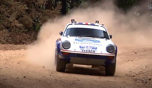 Porsches Looks Back at 911s Rallying; A Sign of Things to Come?