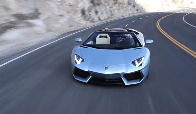 Matt Farah Drives Lamborghini Aventador Roadster and Countach