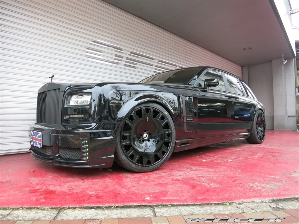 rolls royce phantom 2015 black. wald black bison rollsroyce phantom series ii by officek rolls royce 2015