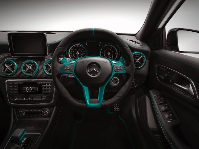 Official: Mercedes-Benz A 45 AMG Petronas Green Edition