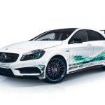 Official: Mercedes-Benz A 45 AMG Petronas Green Edition