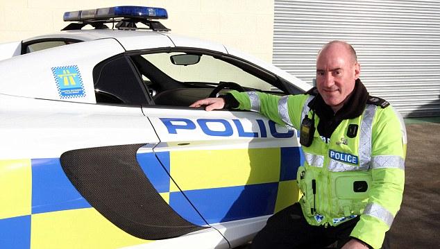 British Police Unveil McLaren 12C Cop Car