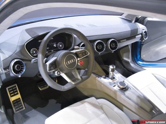 Audi Allroad Shooting Brake Show Car Interior