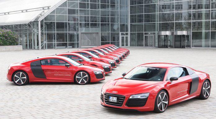 Audi R8 e-Tron Edging Closer to Production