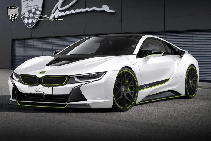 BMW i8 CLR Concept by Lumma Design Imagined