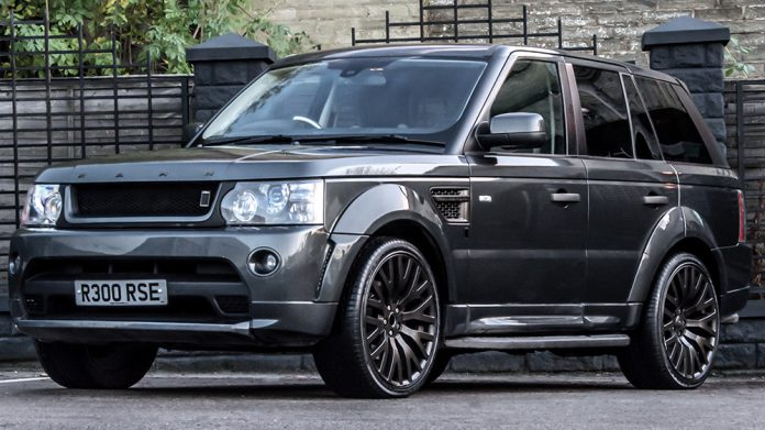 Official: Range Rover Sport RS300 Cosworth Edition by A. Kahn Design