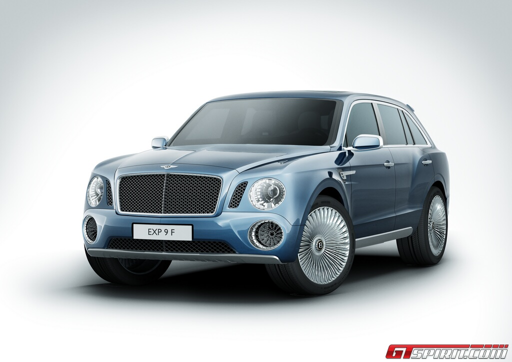 First Hybrid Bentley to be Based on SUV and Available in 2017