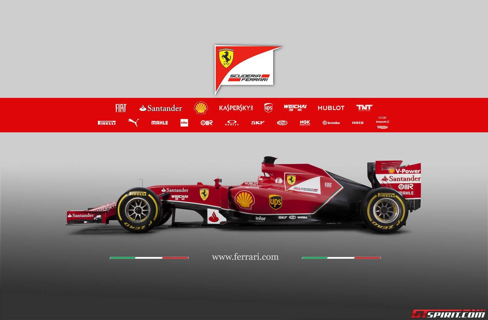 2014 F1 Ferrari 1
