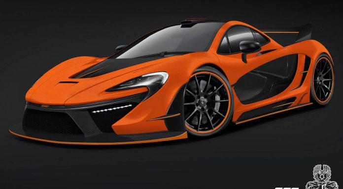 McLaren P1 Night Glow