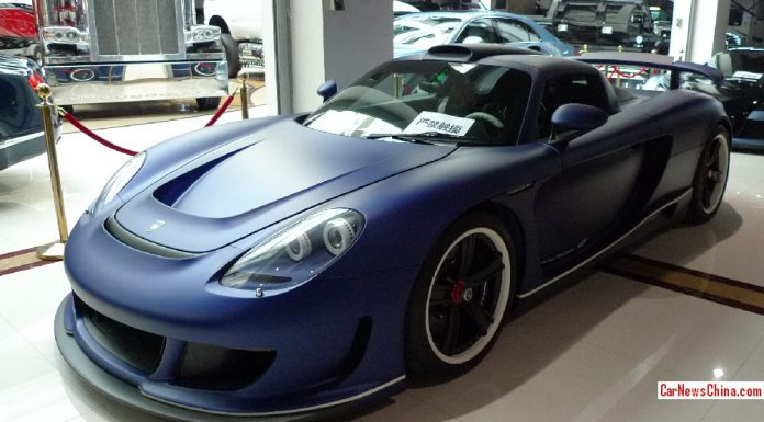 Gemballa Mirage GT Matte Blue Edition For Sale in China