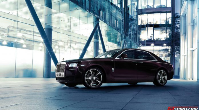 Black Sapphire Rolls-Royce Ghost V-Specification