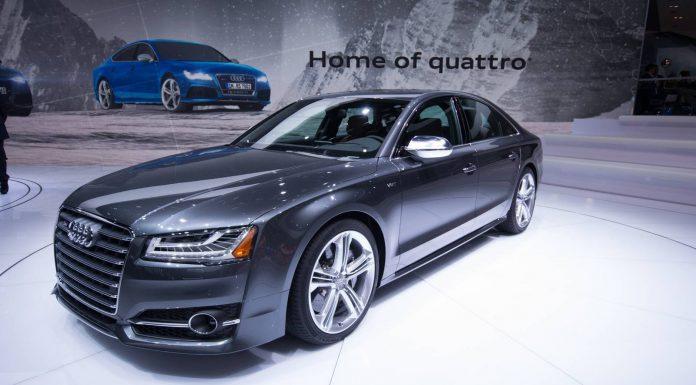 Audi at Detroit Motor Show 2014