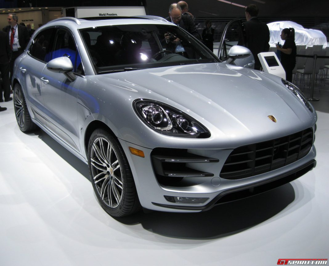 Detroit 2014: Porsche Macan Turbo