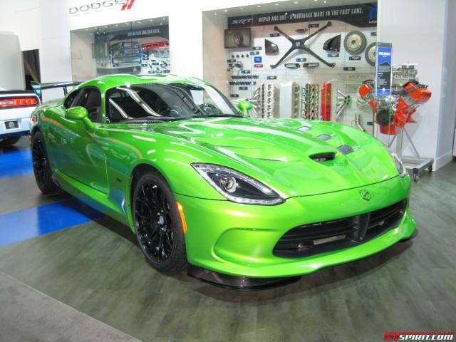 Detroit 2014: Stryker Green SRT Viper