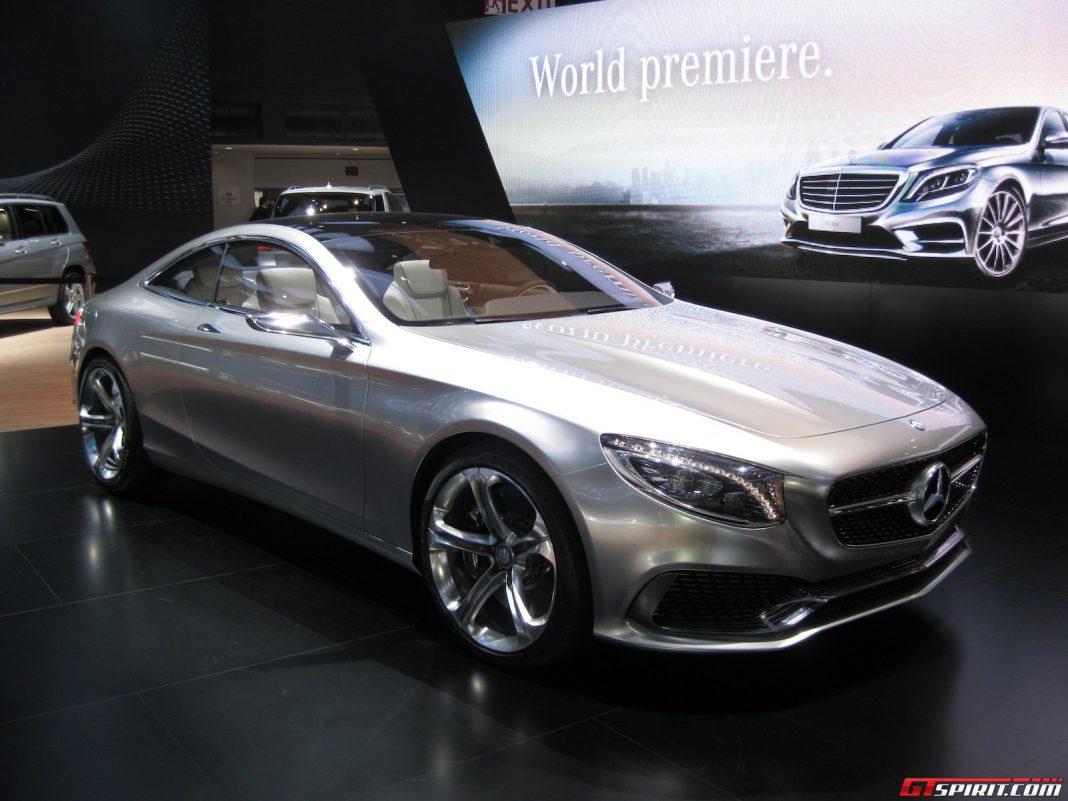 Detroit 2014: Mercedes-Benz S-Class Coupe Concept