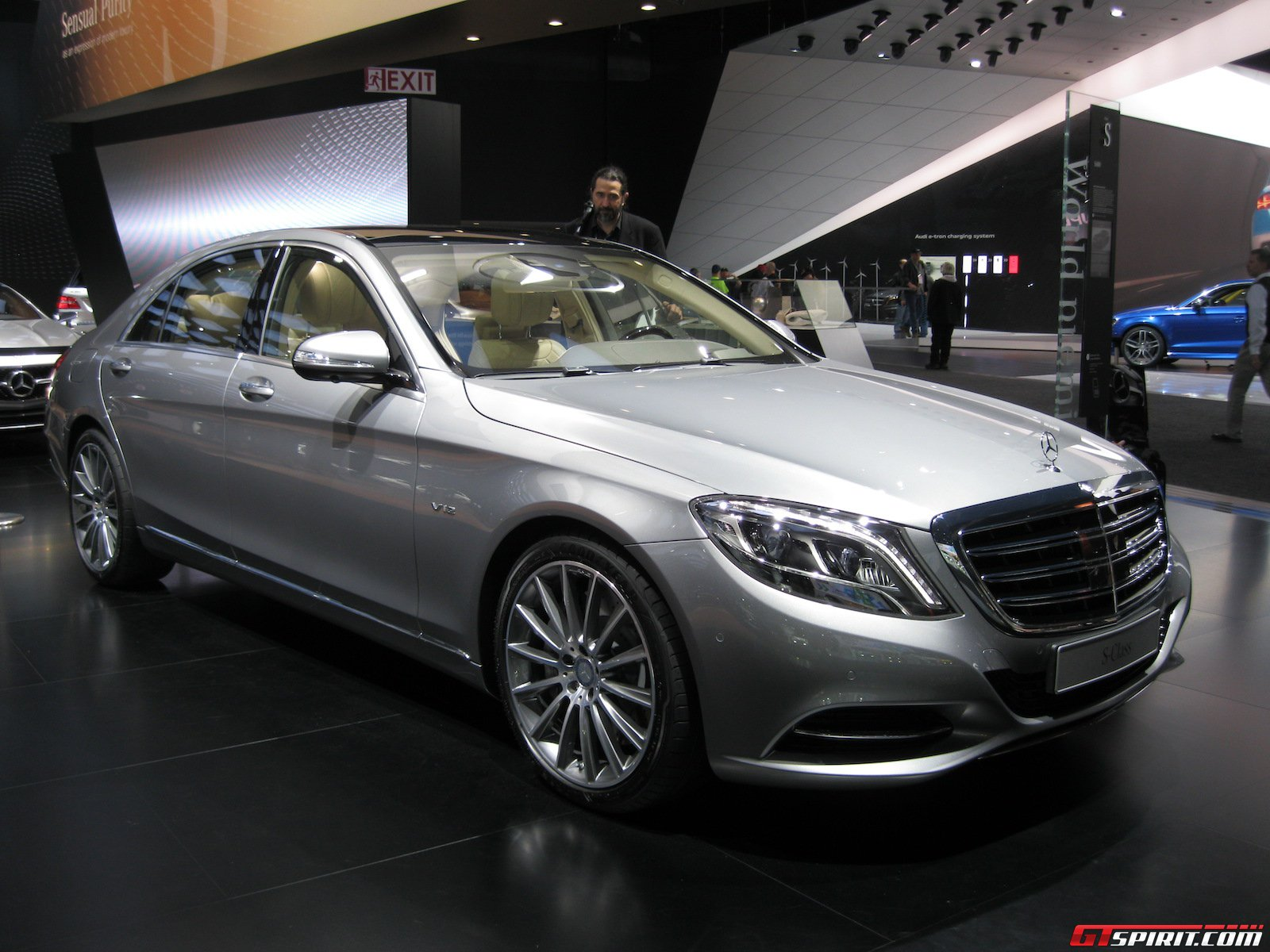 detroit 2014 mercedes benz s 600 gtspirit. Black Bedroom Furniture Sets. Home Design Ideas