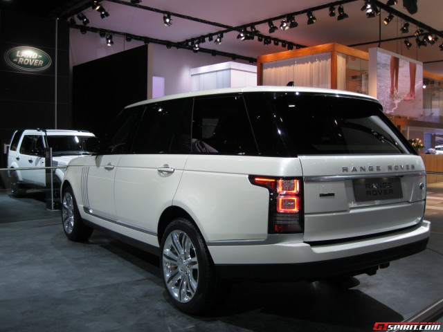 Detroit 2014: Range Rover Long-Wheelbase