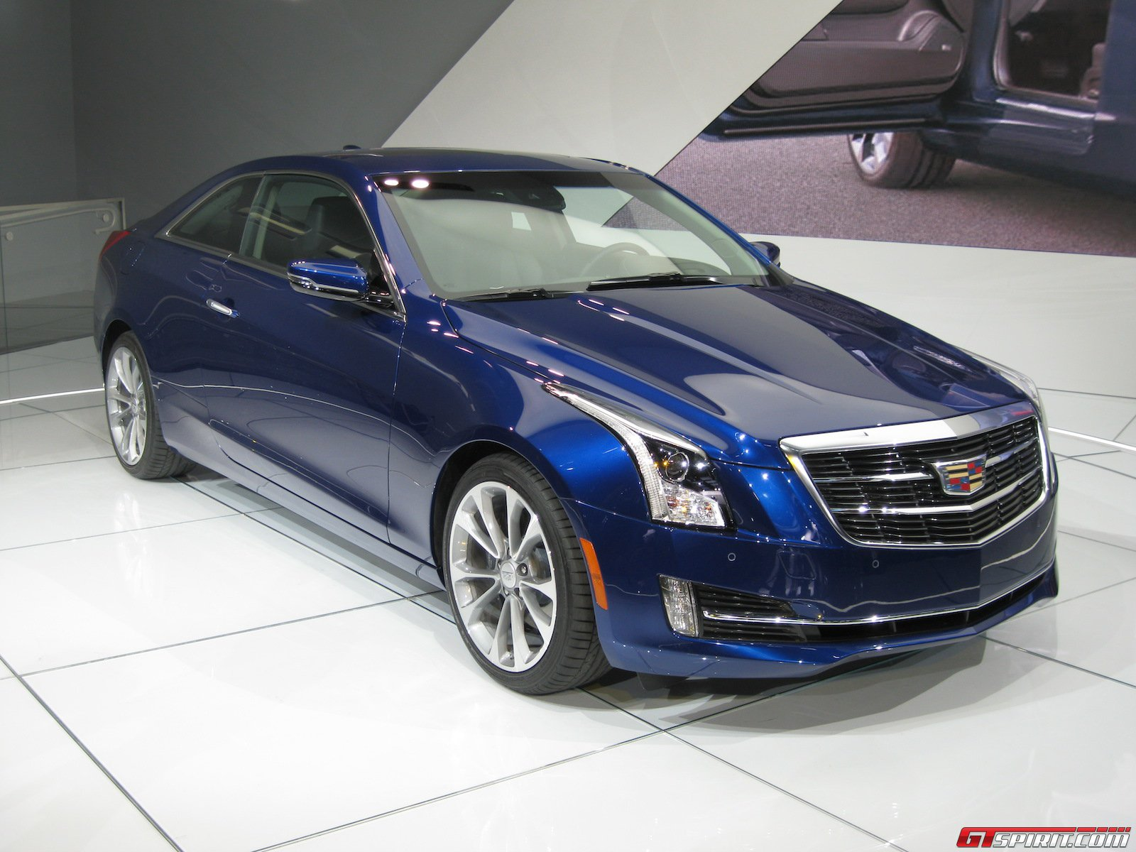 detroit 2014 cadillac ats coupe gtspirit. Black Bedroom Furniture Sets. Home Design Ideas