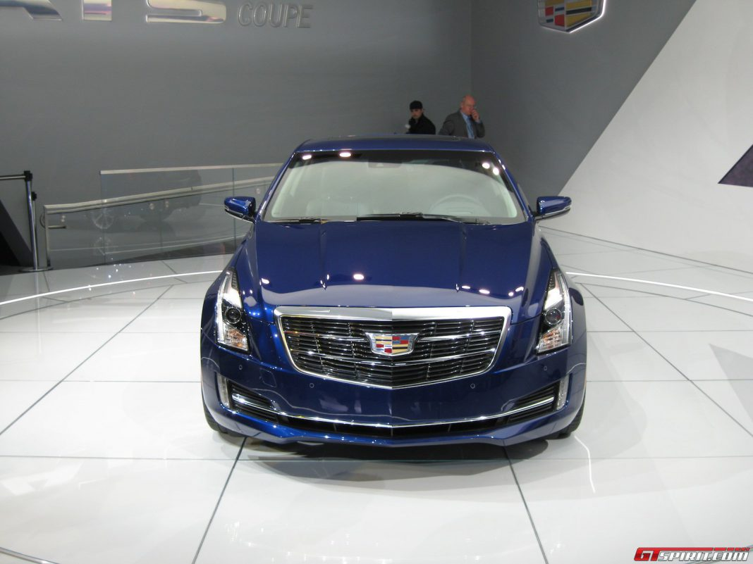 cadillac ats v to come with a 425hp v6 twin turbo gtspirit. Black Bedroom Furniture Sets. Home Design Ideas