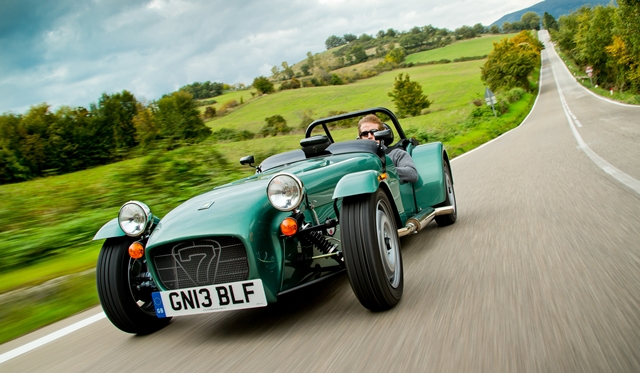 Caterham Cars breaks Export Sales Record in 2013