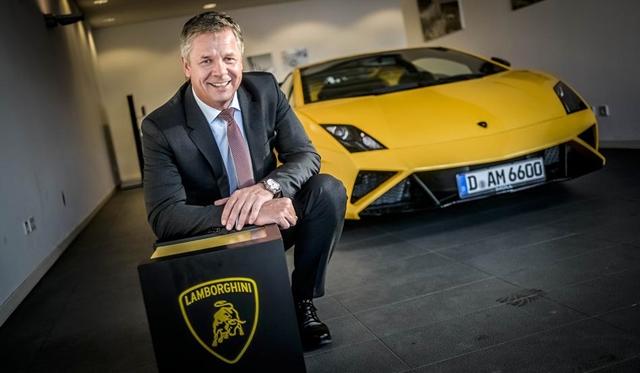 Lamborghini opens Showroom in Dusseldorf