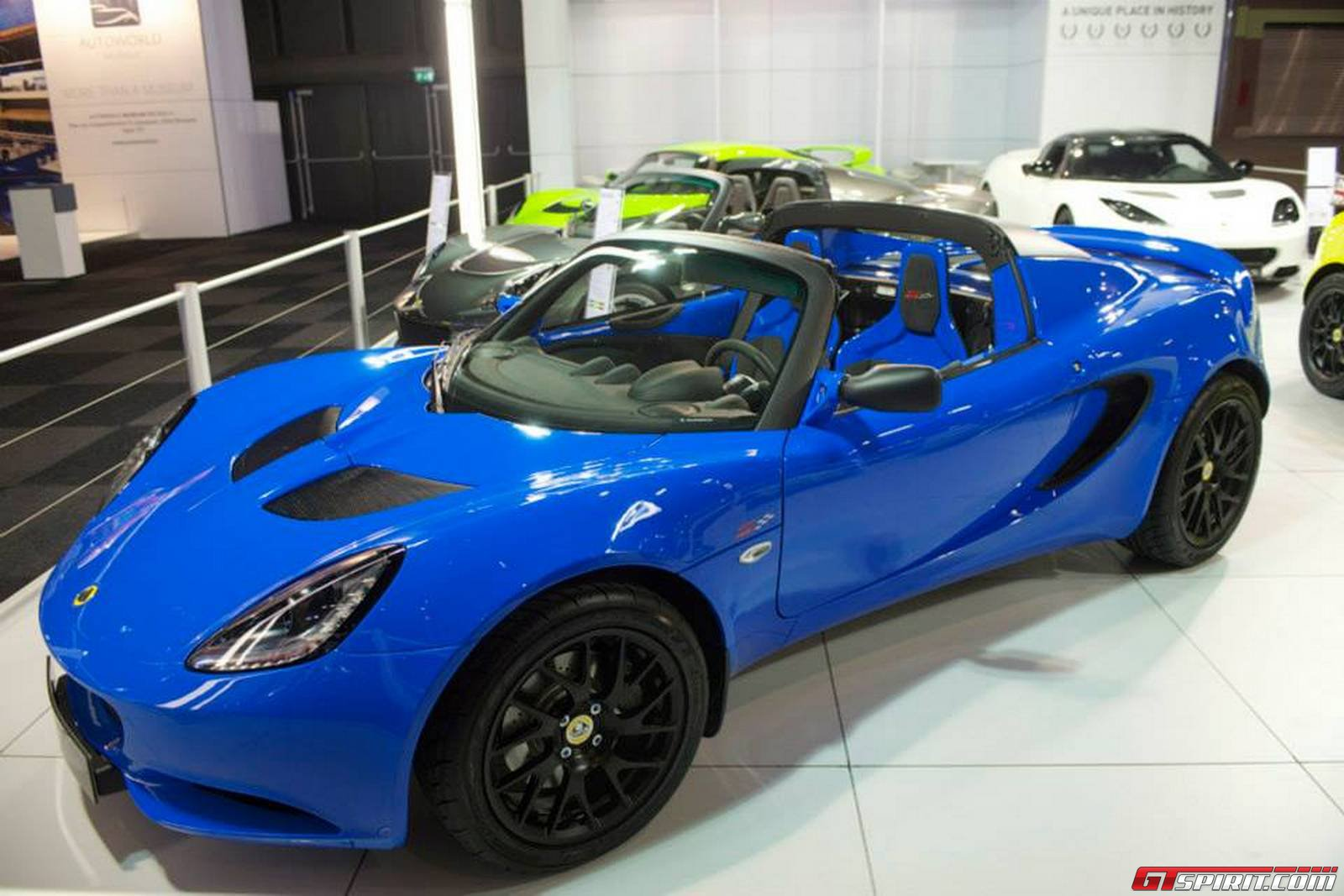 Lotus Cars At The 2014 Brussels Motor Show
