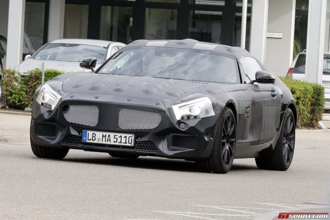 Mercedes-Benz AMG GT to be Revealed in September Before Paris Debut?