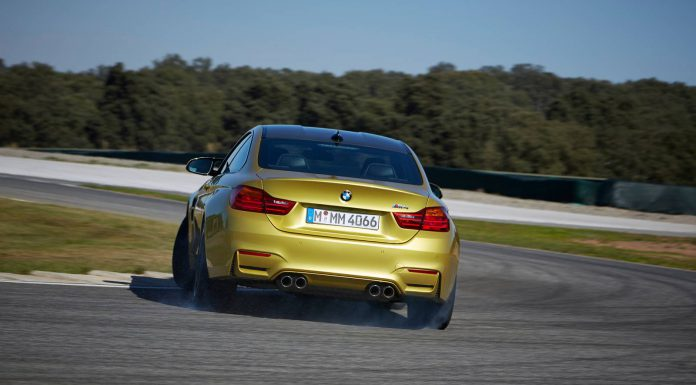 BMW M4 Exhaust Note Sounds Aggressive