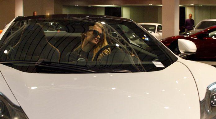 Paris Hilton Picks up Stunning White McLaren 12C Spider