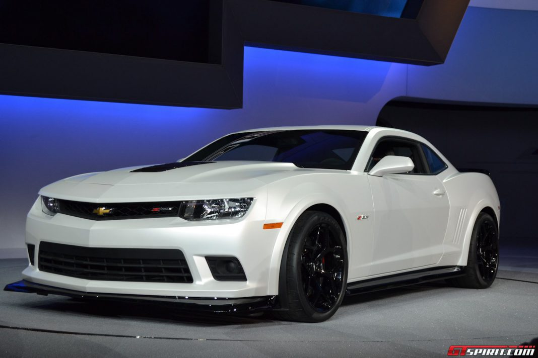First 2014 Chevrolet Camaro Z/28 Heading to Auction Tonight