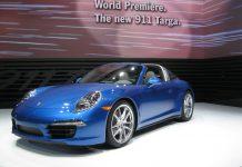 Porsche at Detroit Motor Show 2014