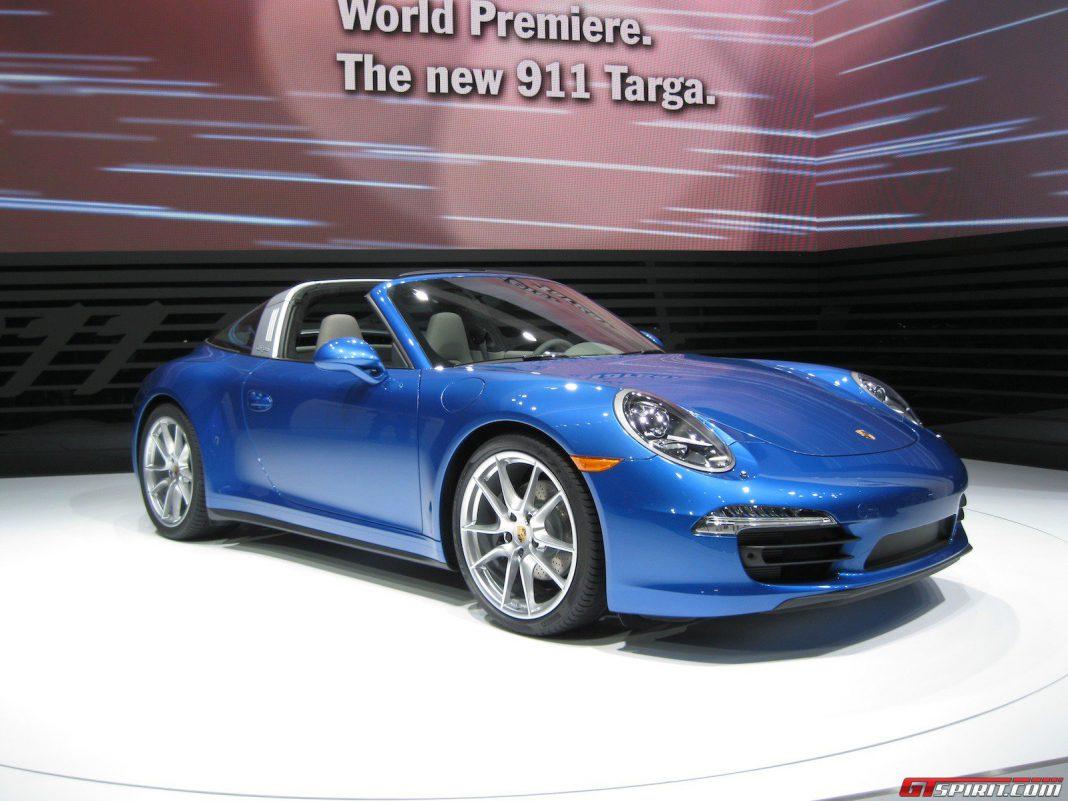 Porsche 991 Targa 4 and 4S