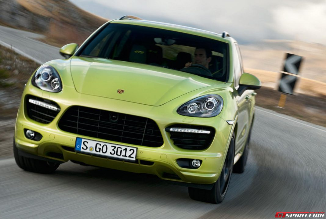 Porsche Cayenne Coupe Could be Out Next Year